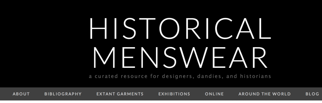 76697a845c83 Historical Menswear  a curated resource for designers